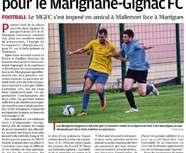 Le Marignane Gignac FC s'offre une victoire pour son premier match de préparation