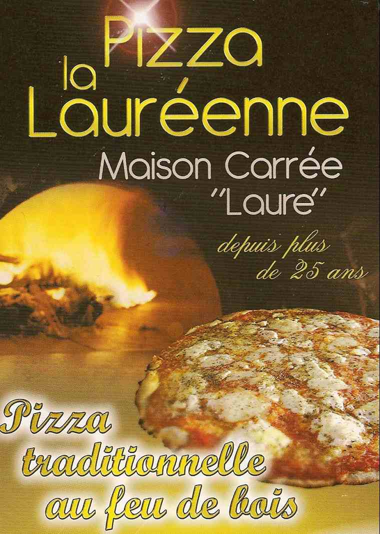 PIZZA LA LAUREENNE